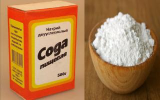 Как избавиться от глистов с помощью соды?