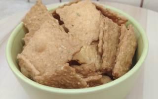 Рецепт сырного печенья без сахара