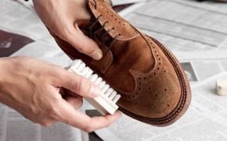 Как нужно правильно ухаживать за обувью из нубука?