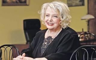 Биография Татьяны Дорониной