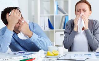 Можно ли делать пробу Манту или прививку при насморке