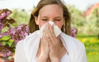 Борьба с аллергией весной