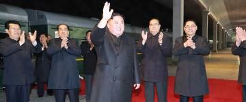 Ким Чен Ын впервые приехал в Россию