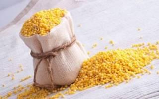 Эффективные народные рецепты с пшеном от цистита