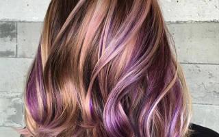 Как делается тонирование волос