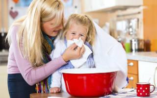 Лечение и ингаляции при насморке у детей