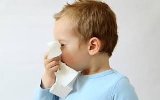 Как лечить острый ринит у детей?