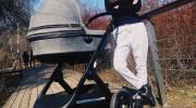 Саша Савельева показала коляску новорожденного сына