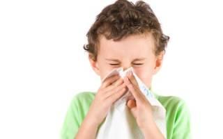 Причины насморка у детей и его лечение