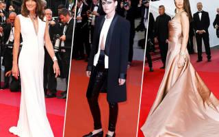 Самые смелые образы Каннского кинофестиваля всех времен: от прозрачного платья Кендаллы Дженнер до комплекта белья Мадонны