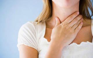 Почему душит щитовидка и как с этим бороться