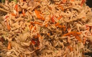 Рецепт риса с курицей по-китайски