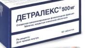 Лекарственный состав и инструкция по применению препарата Детралекс