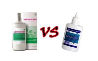 Что выбрать: Мирамистин или Хлоргексидин