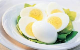 Калорийность, состав и польза вареного яйца