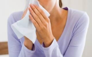 Аллергический и вазомоторный ринит — основные симптомы, диагностика и лечение