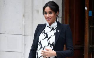 Жена принца Гарри Меган Маркл рассказала о своих планах после родов