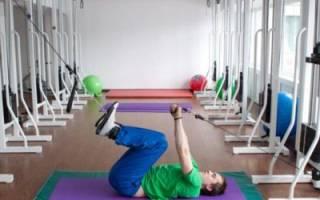 Упражнения ЛФК при компрессионном переломе позвоночника