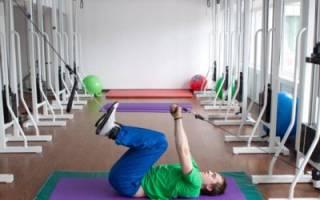 Лечебный комплекс упражнений для укрепления мышц поясничного отдела позвоночника