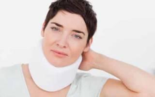 Показания и противопоказания к использованию корсета для шеи и шейного отдела позвоночника