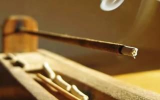 Виды ароматических палочек, их польза и вред, способы использования