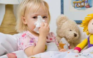 Опасность осложнений после гриппа у детей