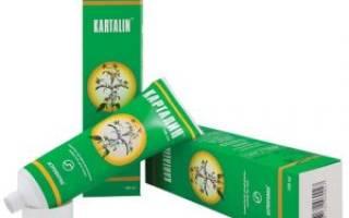 Эффективна ли мазь «Карталин» при псориазе?