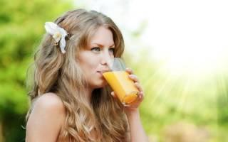 Какие напитки и соки можно пить при панкреатите
