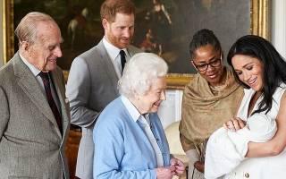 Принц Чарльз впервые встретил королевского младенца Арчи