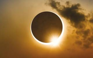 Почему происходят солнечные затмения