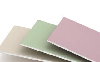 Как правильно работать с листами для обшивки из картона и гипса