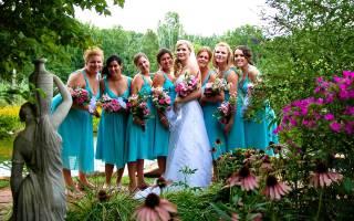 Как выбрать платья для подружек невесты?