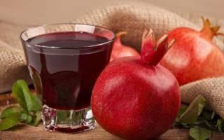 Польза и вред гранатового сока для организма