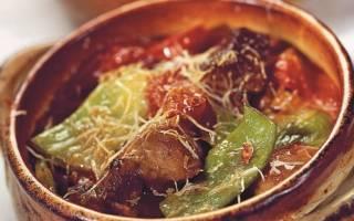 Рецепт вкусного мяса с овощами в горшочке