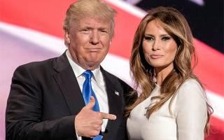 Биография жены Трампа