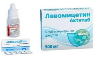 Проверенное средство против инфекций: Левомицетин при цистите