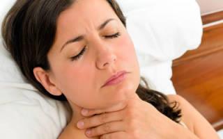 Причины, симптомы и лечение кома в горле при щитовидной железе