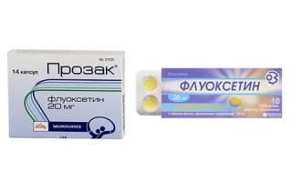 Что выбрать: Прозак или Флуоксетин?