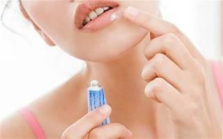 Выбор эффективной мази от простуды на губах для взрослых и детей