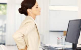 Причины появления болей в спине в области поясницы