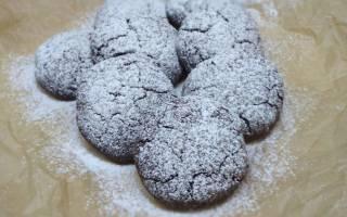 """Печенье шоколадное с миндалем """"Из кофейни"""""""