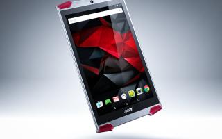 Игровой планшет Acer Predator 8