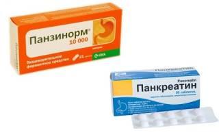 Сравнение Панкреатина и Панзинорма