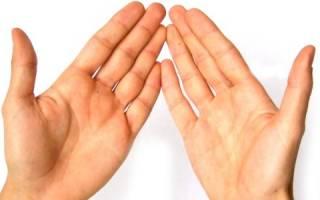Как можно избавиться от потливости рук