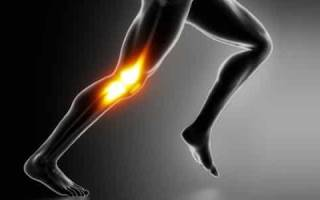 Как наложить эластичный бинт на колено?
