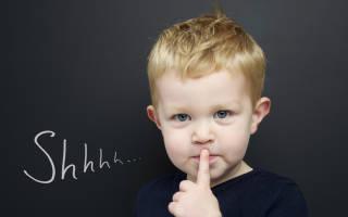 Если к трём годам ребёнок не разговаривает