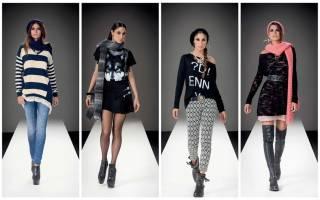 Классификация модных стилей