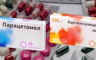 Сравнение Парацетамола и Ацетилсалициловой кислоты