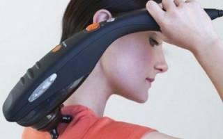 Для чего нужен и как используется шейный массажер при остеохондрозе?