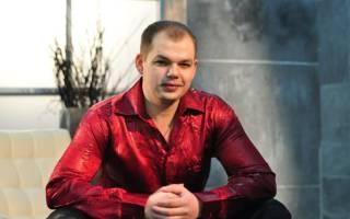 Российский певец шансона Алексей Брянцев